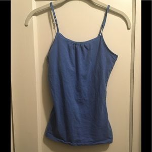 Tank top with built in bra